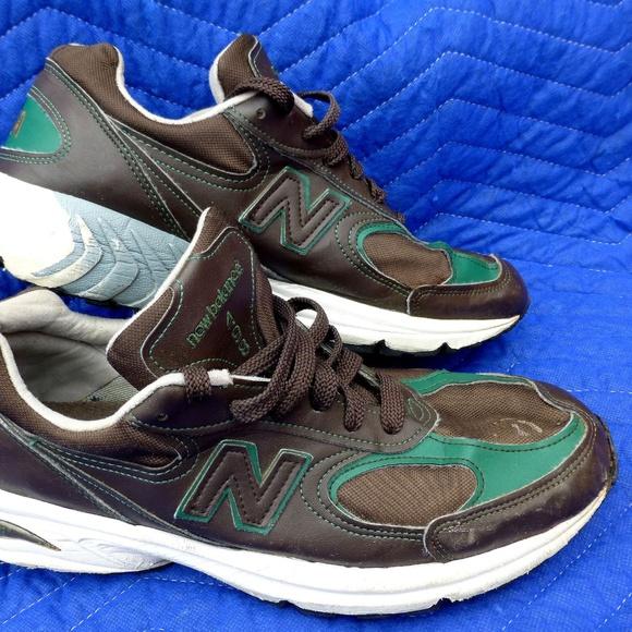 93cd060e New Balance 498 USA Brown Sneakers - Size 9-1/2
